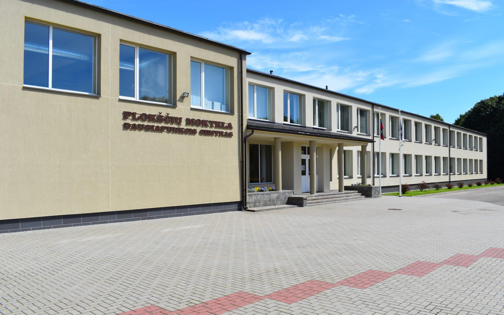 Plokščių mokykla daugiafunkcis centras